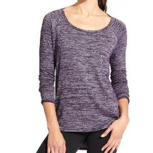 Athleta Open Pose Top In Purple